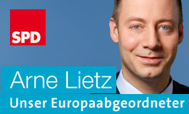 Arne Lietz - SPD-Kandidat in Sachsen-Anhalt für die Wahl zum Europäischen Parlament
