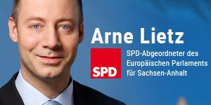 Arne Lietz - SPD-Abgeordneter des Europäischen Parlaments für Sachsen-Anhalt
