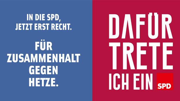 Werden Sie SPD-Mitglied!