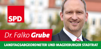 Falko Grube - Landtagsabgeordneter und Magdeburger Stadtrat