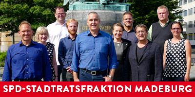 Zur Homepage der SPD-Stadtratsfraktion der Landeshauptstadt Magdeburg